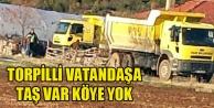 UTAŞ#039;TAN TORPİLLİ VATANDAŞA ÖZEL TAŞ SERVİSİ