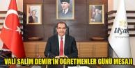 Vali Salim Demir#039;in 24 Kasım Öğretmenler Günü Mesajı