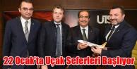 UŞAK- İSTANBUL UÇAK SEFERLERİ 22 OCAK#039;TA BAŞLIYOR