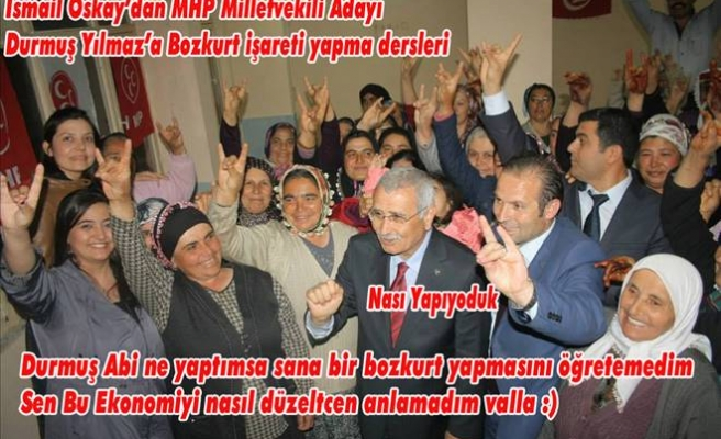 SİYASİLERDEN FOTO ŞAKA KARELERİ