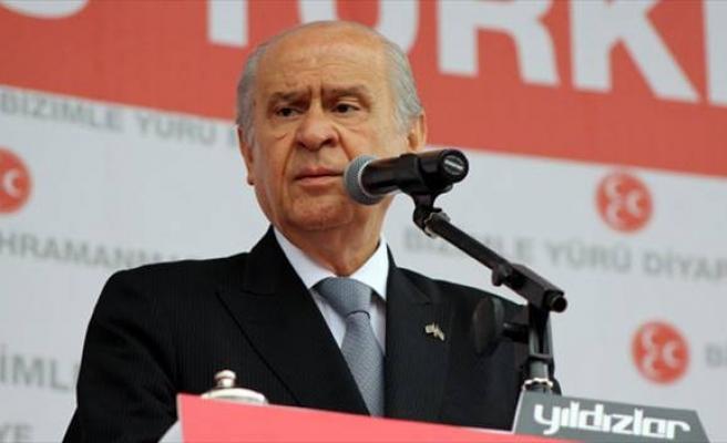 Bahçeli: `İstiyorlar ki Türk milleti dursun, sussun, kımıldamasın