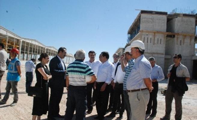Türkiye'nin En Büyük Pamuk Deposu Urfa'da Yapılıyor