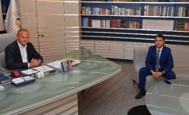DSİ Düzce Şube Müdürü Yıldız'dan Ziyaret