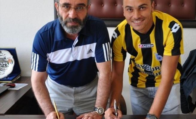 Galatasaraylı Genç Yıldız Bayburt'ta