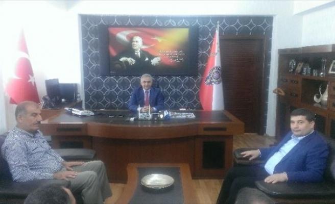 Mehmet Balin, Emniyet Müdürünü Ziyaret Etti