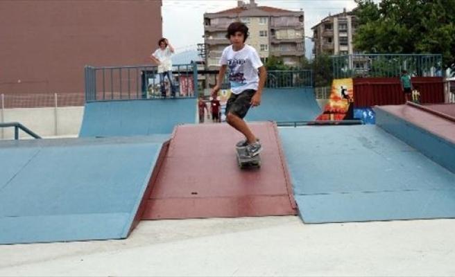 Skate Park Gençlerin Gözdesi Oldu