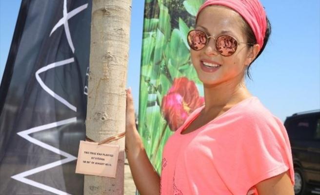 Ünlüler Ormanı'nın 22. Ağacı Nyusha'dan