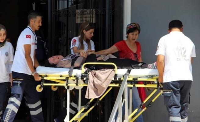 Şehit Madenci Eşi Hastaneye Kaldırıldı