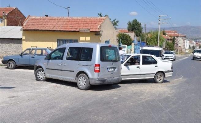 Eskişehir'de Trafik Kazası, 3 Yaralı