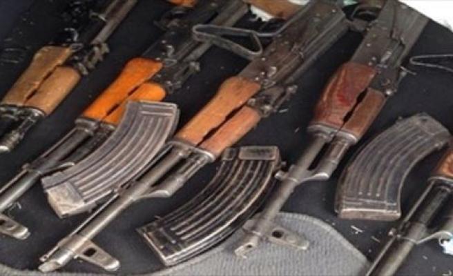 Ceylanpınar'da Uzun Namlulu Silahlar Ve Mühimmat Ele Geçirildi