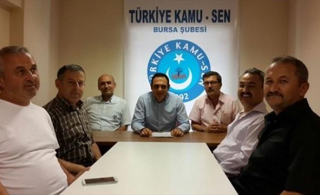Türk Büro-sen Şube Başkan Yardımcısı Melih Tomaçoğlu: