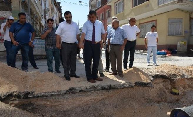 """Gürkan: """"Battalgazi'nin Her Noktasında Çalışma Var"""""""