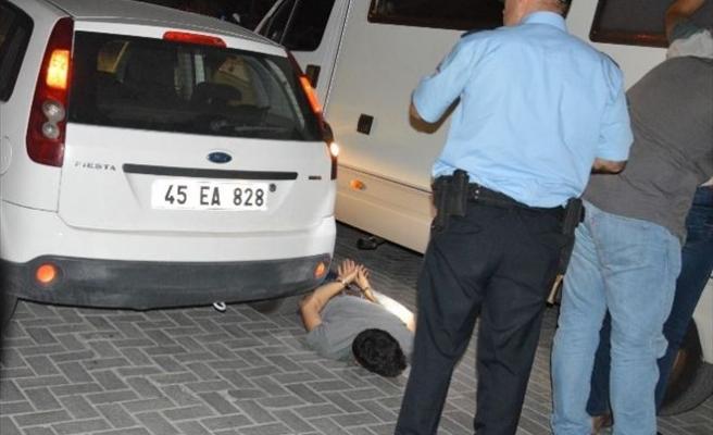 'Dur' İhbarına Uymayan Sürücü Alkollü Çıktı
