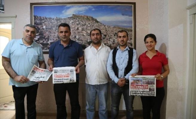Tküugd Genel Başkanı Yavuzaslan Mardin'de Meslektaşları İle Buluştu