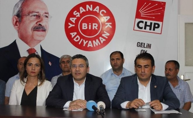 CHP Milletvekilleri Basın Toplantısı Düzenledi
