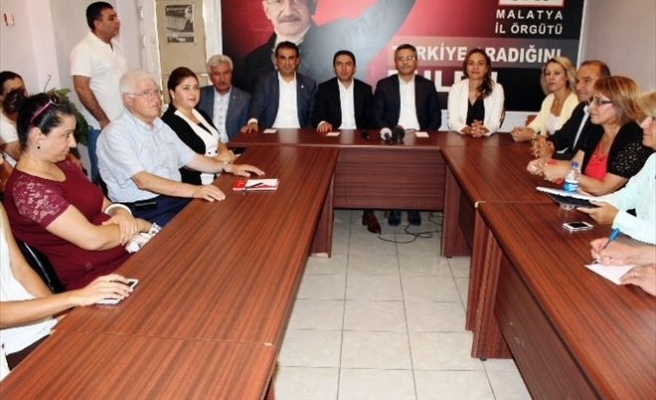 CHP'li Vekiller Malatya'da