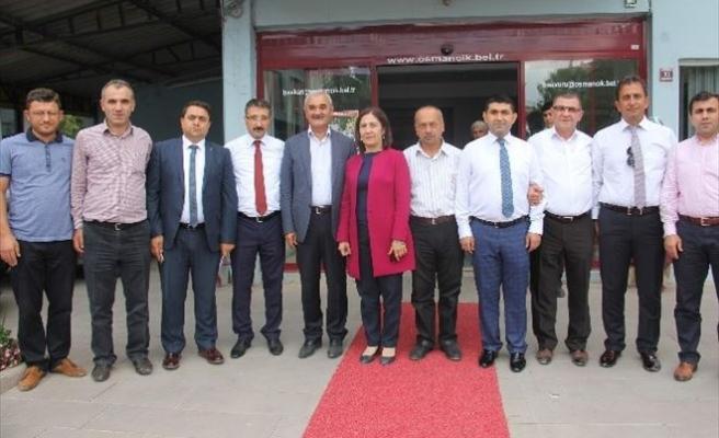 Kurt Ve Bekiroğlu'ndan Başkan Karataş'a Ziyaret