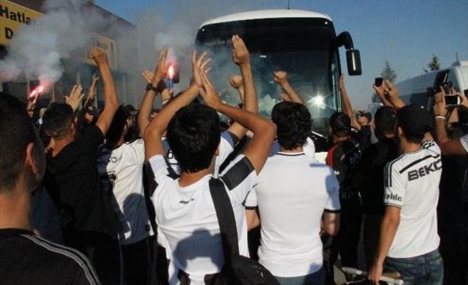 Beşiktaş'a Gaziantep'te Coşkulu Karşılama