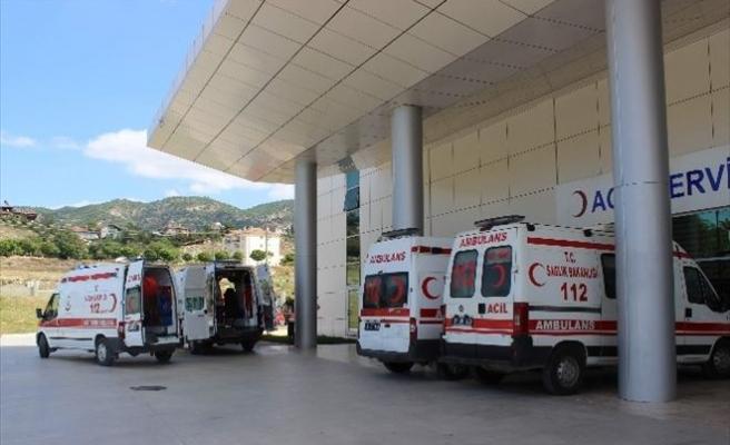 Çorum'da İki Ayrı Kaza: 13 Yaralı