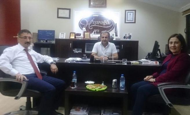AK Parti Heyetinden Hışıroğlu'na Ziyaret