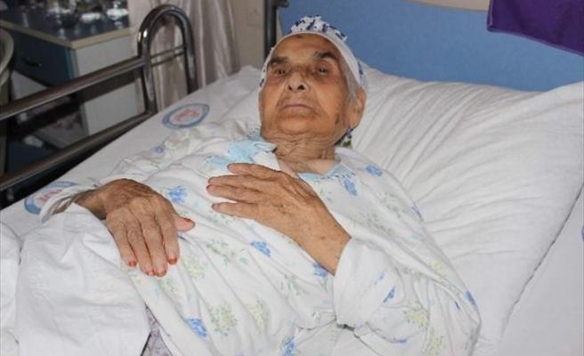 Kurbanlık Koç Mürüvet Nineyi Hastanelik Etti