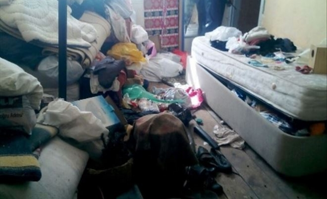 Çöp Evden İki Kamyon Atık Çıktı