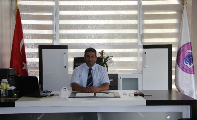 Van-şişli Öğretmenevi Müdürü Aldemir Görevine Başladı