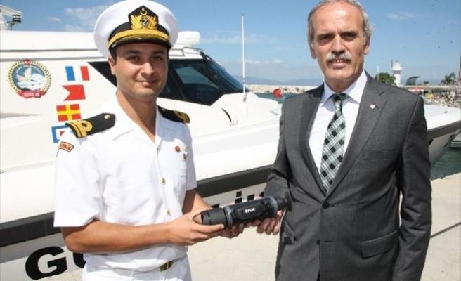 Büyükşehir'den 'Sahil Güvenlik'e Kamera Desteği