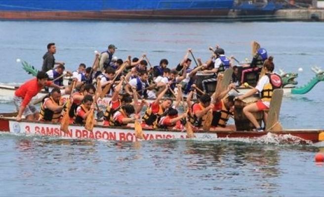 Samsun'da Dragon Bot Yarışları Heyecanı