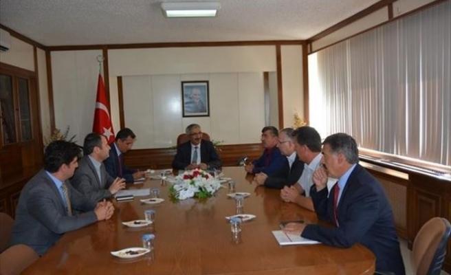 Sıcak Su Seracılık İhtisas OSB Çalışması Toplantısı Yapıldı