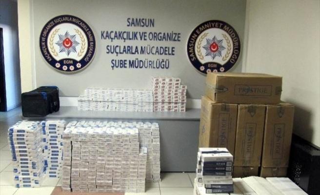 Kargo Aracında Gümrük Kaçağı 13 Bin 430 Paket Sigara Ele Geçirildi