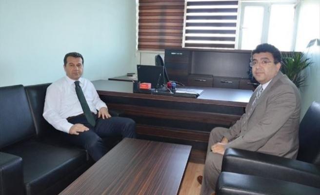 Vali Çelik, Vergi Mahkemesi Başkanını Ziyaret Etti