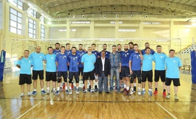 Şahinbey Belediyesi Voleybol Takımı Yeni Sezon Hazırlıklarını Sürdürüyor