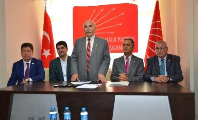 CHP'nin Bilgilendirme Toplantısı