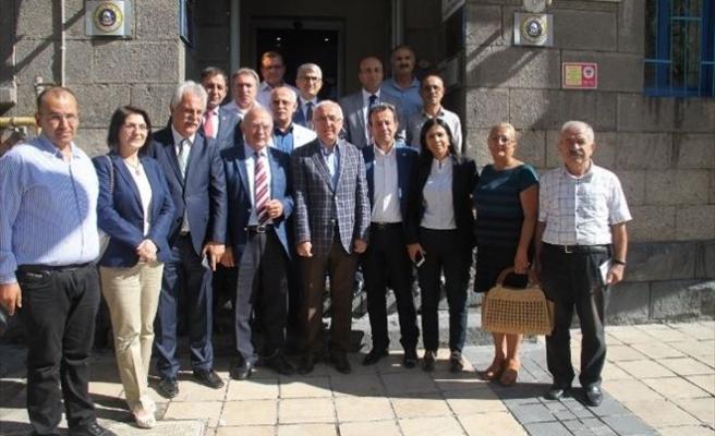 CHP Heyetinden KTO'ya Nezaket Ziyareti