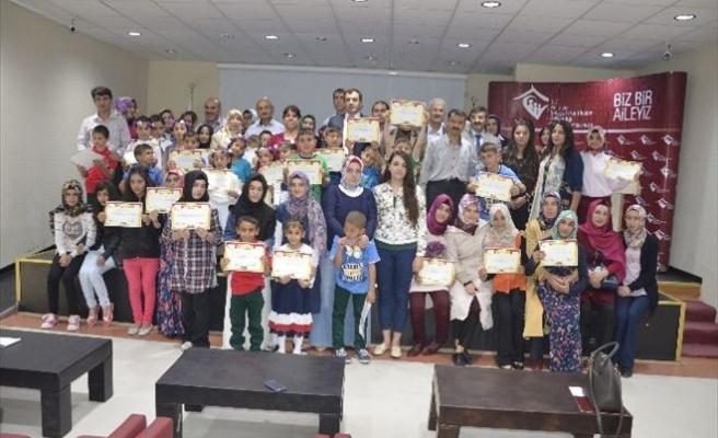 Devlet Korumasındaki Çocuklar Kuran Kursunu Başarıyla Tamamladı