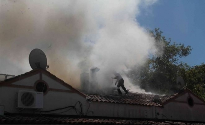 Fethiye Balık Halindeki Yangın Korkuttu