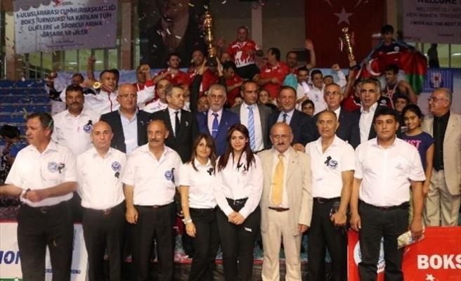 Milli Boksörler Cumhurbaşkanlığı Turnuvasında Şampiyon Oldu
