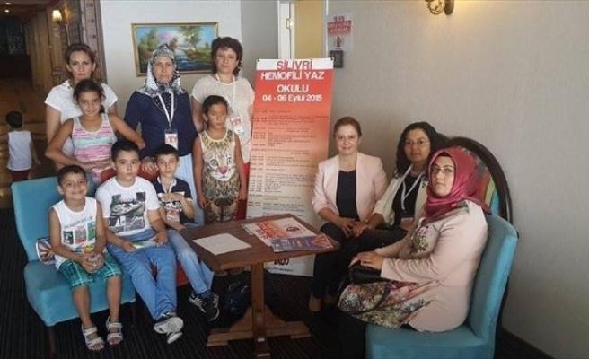 Hemofili Hastaları Yaz Okulunda