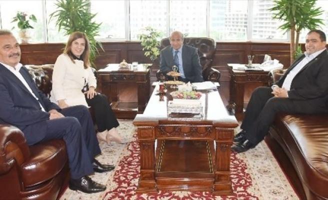 Başkan Koçak Ve AK Partili İnceöz'den Bakan Arzu'ya Ziyaret