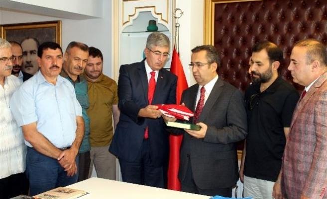 Konya'da Gazetecilerden Emniyet Müdürü Demir'e Ziyaret