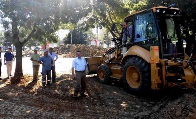 Seydişehir'in Merkezine Şehir Meydanı Yapılıyor