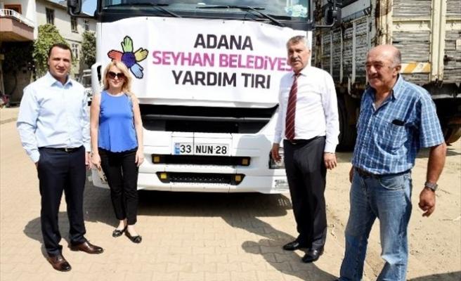 Seyhan Belediyesi'nin Yardım Eli Hopa'ya Uzandı