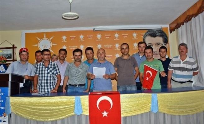 AK Parti Demre'den Teröre Lanet Açıklaması