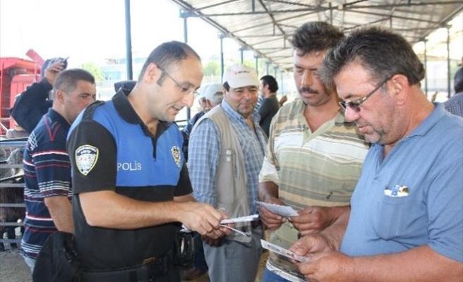 Burdur Polisi Hayvan Hırsızlığı, Dolandırıcılık Ve Sahte Para Konusunda Uyardı