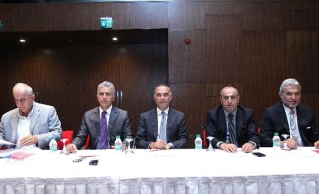 Spor Toto 2. Lig Kulüp Başkanlarından TFF'yi Ziyaret Etti