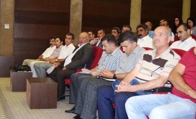Van'da Sertifikalı Tohum Kullanımının Yaygınlaştırılması Toplantısı