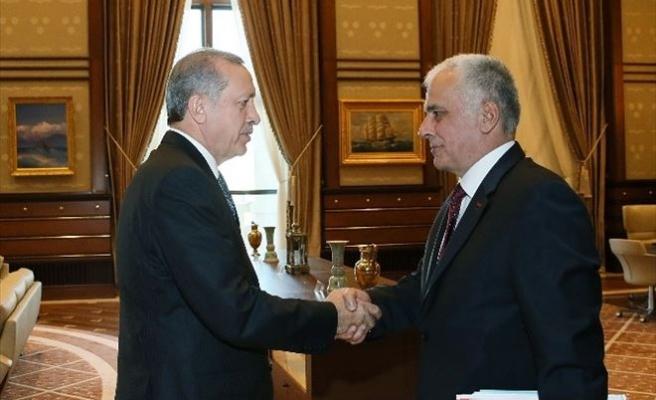 Cumhurbaşkanı Erdoğan, TÜBA Başkanı Acar'ı Kabul Etti