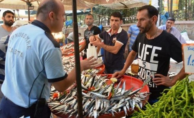 Zabıtadan Balıkçılara Denetleme