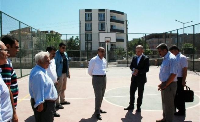 Adıyaman'da Basketbol Sahasız Okul Kalmayacak